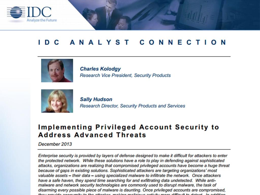 IDC-AnalystConnectionDec2013
