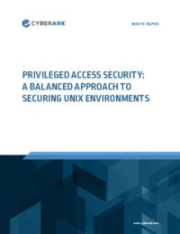 Privileged Access Security: A Balanced Approach to Securing Unix Environments