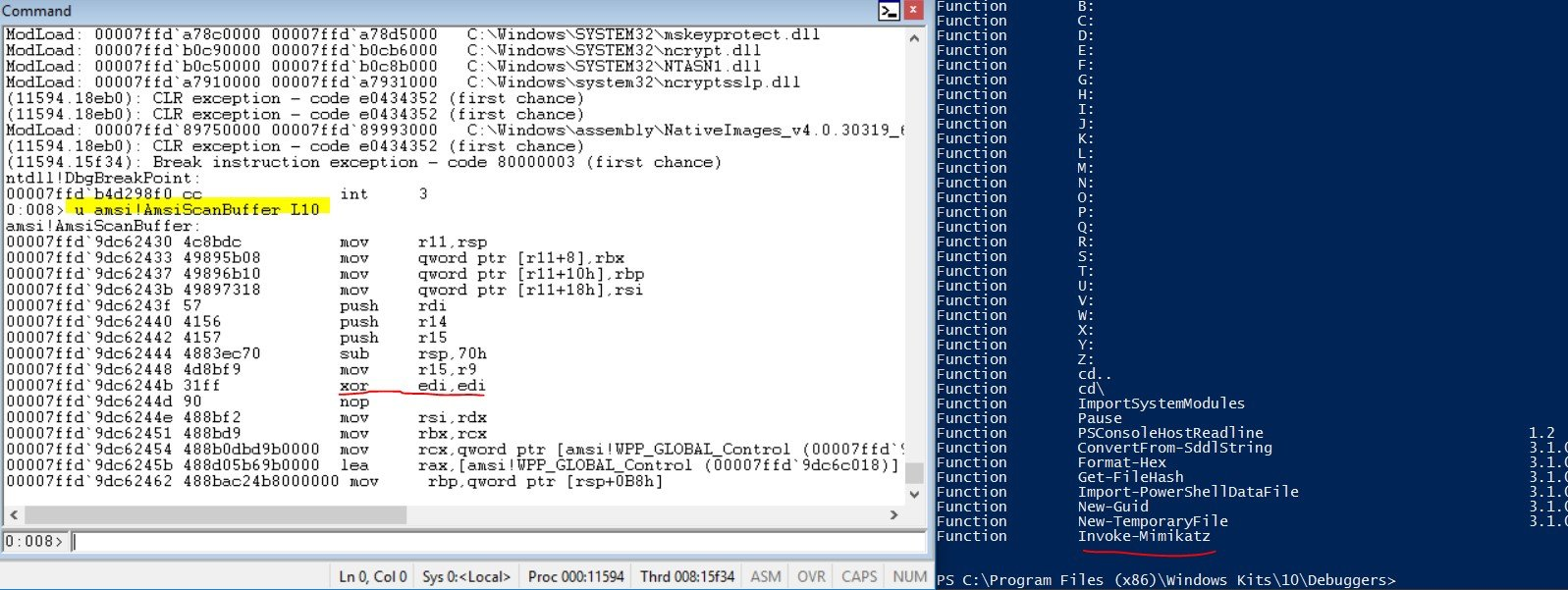 AMSI Bypass Redux   CyberArk