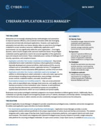 Application Access Manager