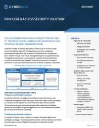 Soluzione Privileged Access Security