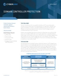 Domain Controller Protection