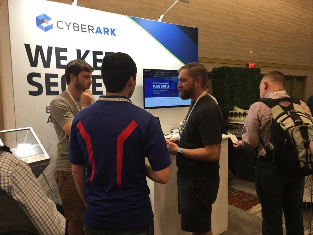 AnsibleFest Booth: learn about secrets management