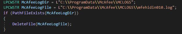 Figure 7 Code Snippet 1