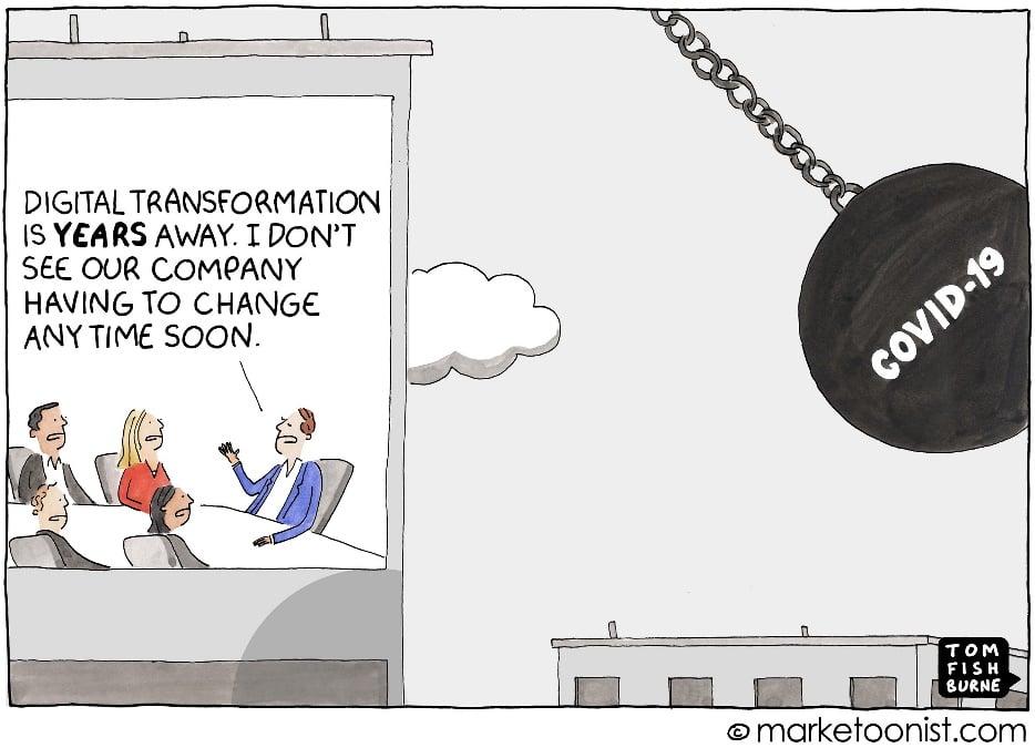 COVID-19 has dramatically accelerated digital transformation
