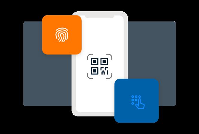 PAM Remote Access Biometric Multi-Factor Authentication